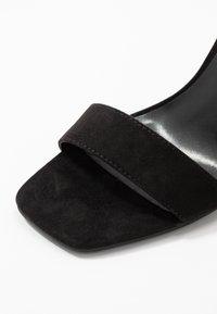 Miss Selfridge - STEFFI - Sandály na vysokém podpatku - black - 2