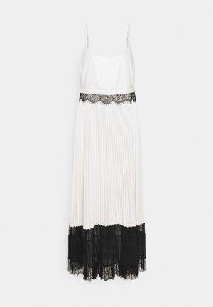 ABITO LUNGO SPALLINE - Cocktail dress / Party dress - neve/nero