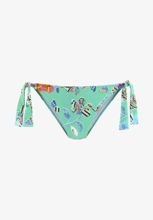 JAM - Bikini bottoms - türkis bunt