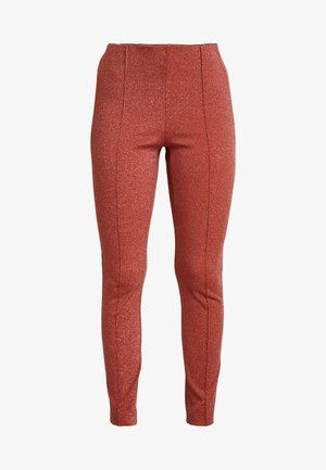 VLADA PANT - Leggings - rust