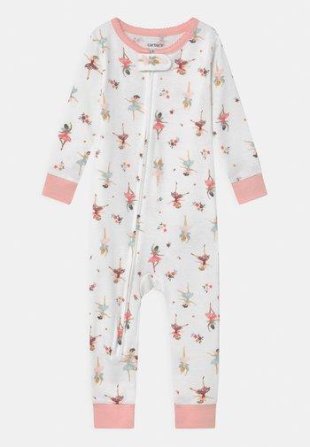 BALLERINA - Pyjamas - white/light pink