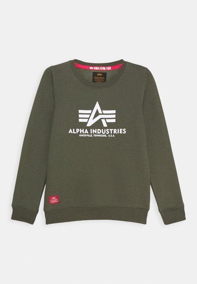 BASIC KIDS TEENS - Sweater - dark olive
