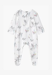 Cotton On - DISNEY BAMBI LONG SLEEVE ZIP UNISEX - Dupačky na spaní - white - 0