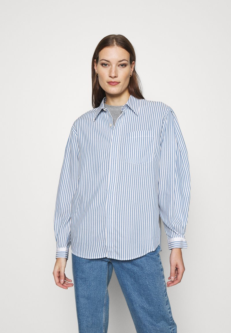 Hope - SERENE SHIRT - Button-down blouse - blue stripe