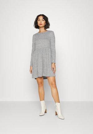VMMALENA SHORT DRESS - Day dress - light grey melange