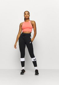 ASICS - COLORBLOCK PANT - Pantaloni sportivi - performance black - 1