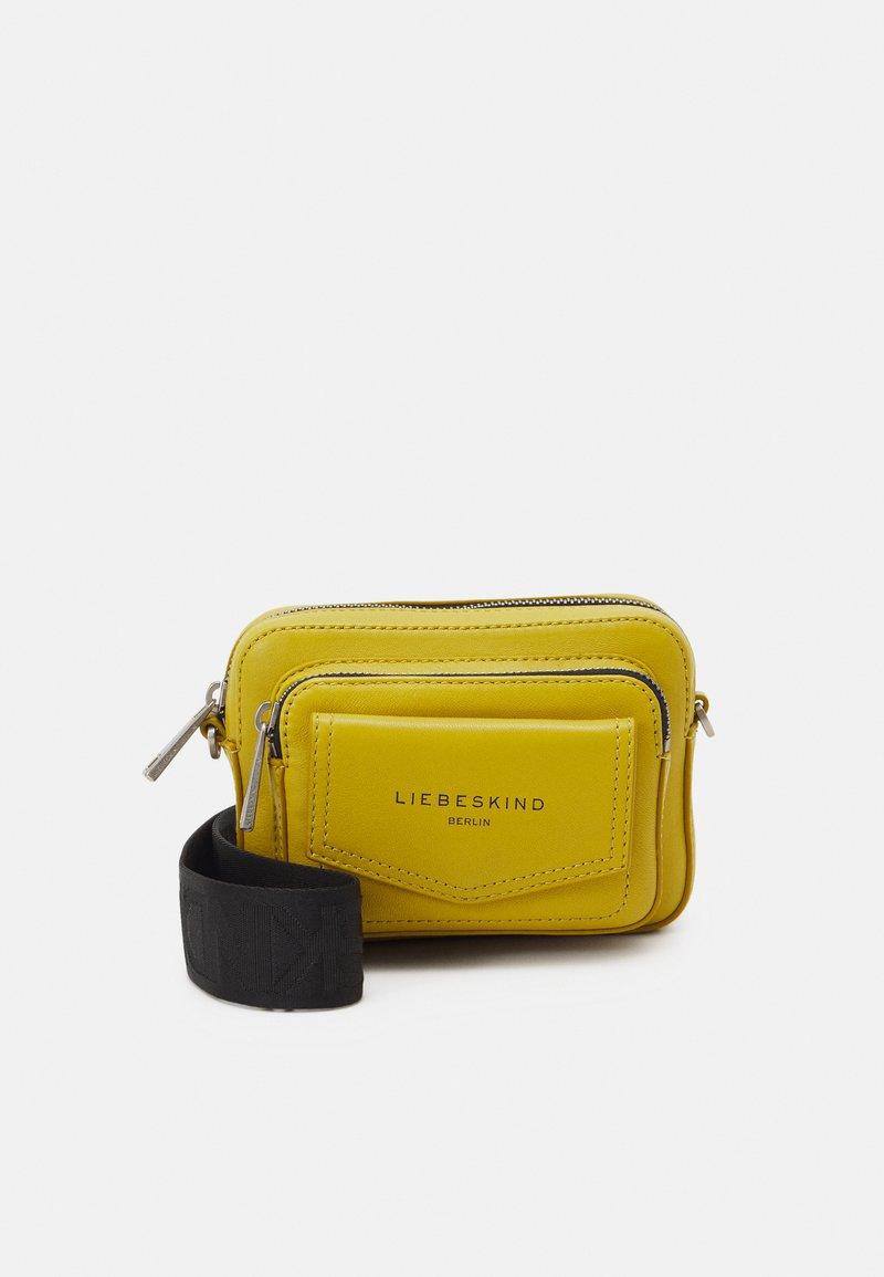 Liebeskind Berlin - CROSSBODY XS - Across body bag - cream gold-coloured