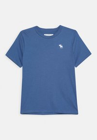 Abercrombie & Fitch - CREW 3 PACK  - Print T-shirt - blue/white/red - 3