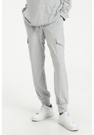 KASIGGI LINDA PANTS - Tracksuit bottoms - light grey melange