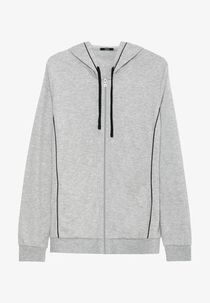 Zip-up hoodie - grigio mel.chiaro/nero