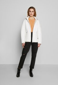 Barbara Lebek - STEPP MIT KAPUZE - Light jacket - offwhite - 1