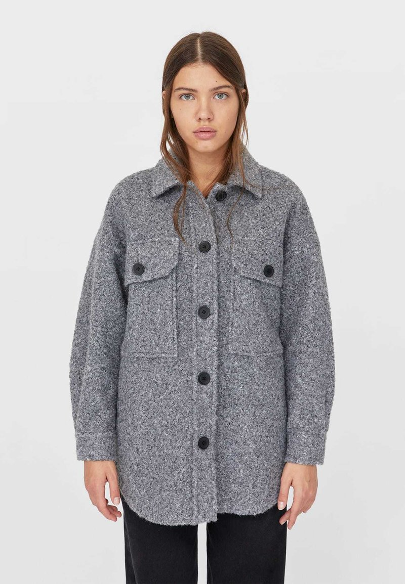 Stradivarius - Summer jacket - grey