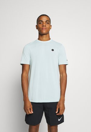 RUSH SEAMLESS FITTED - Sports shirt - enamel blue