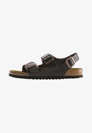 MILANO  - Walking sandals - dark brown