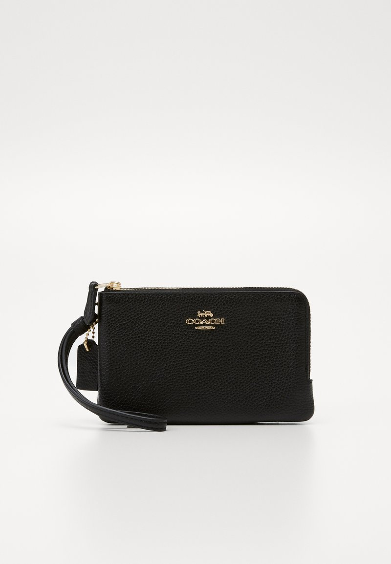 Coach - DOUBLE SMALL WRISTLET - Wallet - black