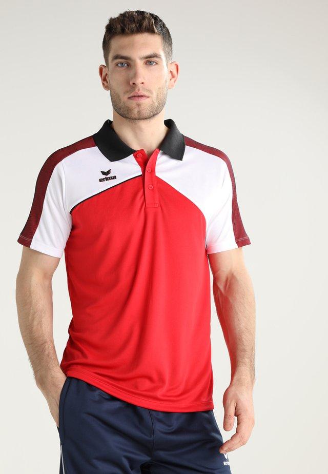 PREMIUM ONE 2.0 FUNCTION - Polo shirt - red/white/black