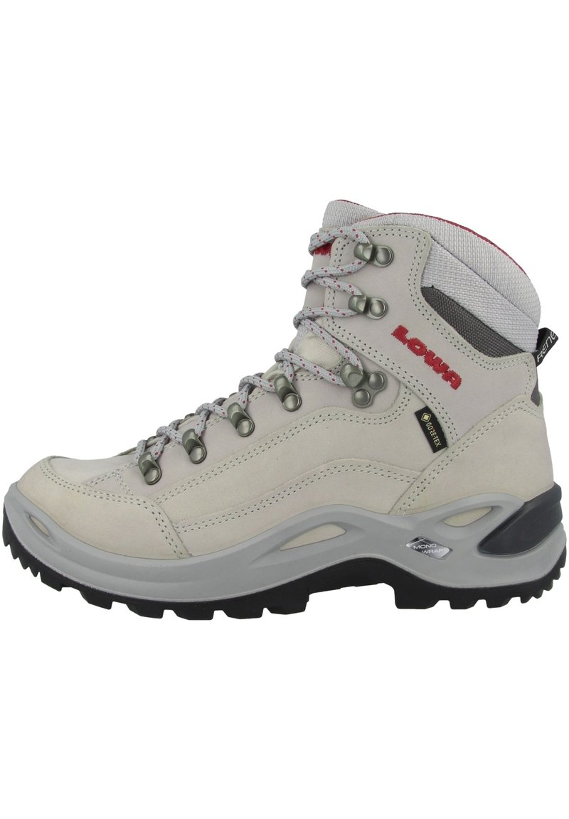 Lowa - Hiking shoes - grau-rot (320945-9034)