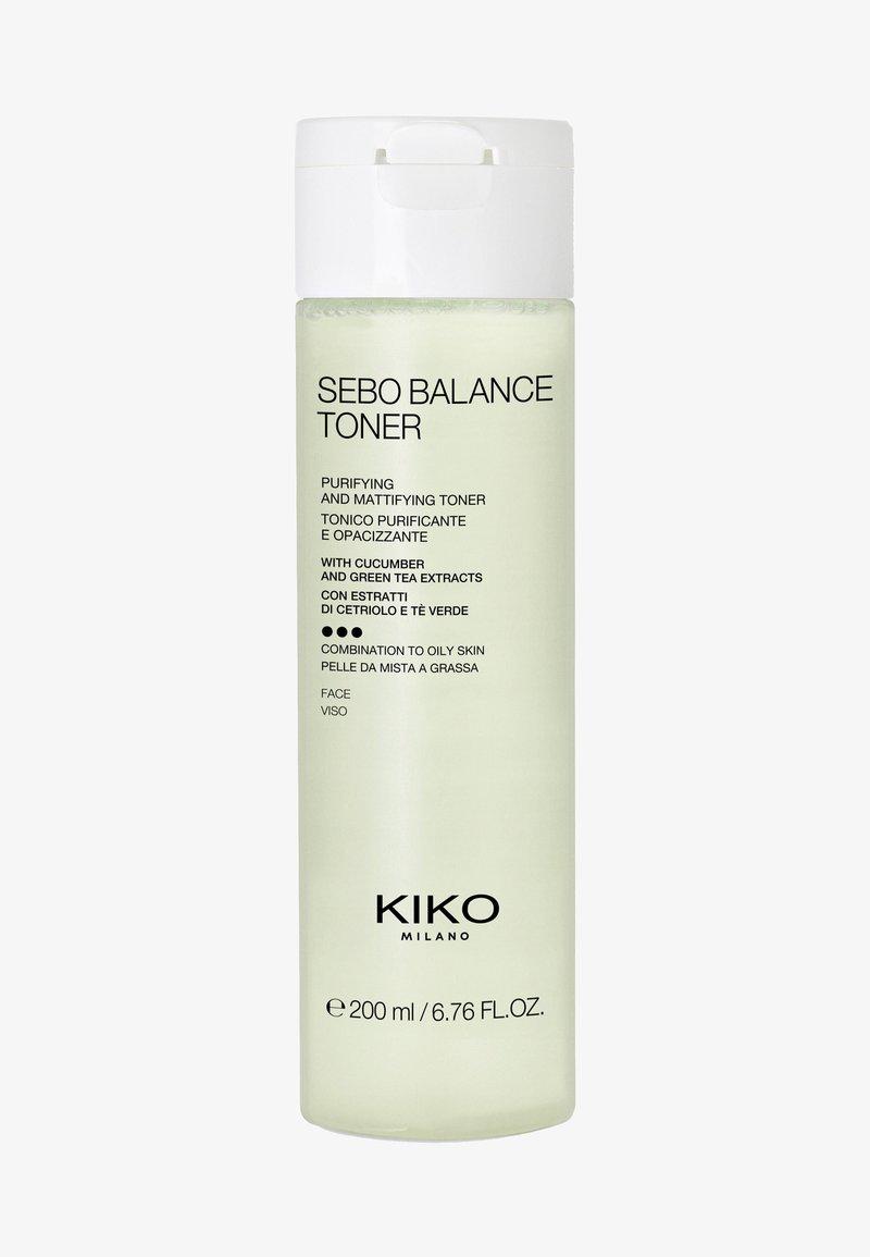 KIKO Milano - SEBO BALANCE TONER - Gesichtswasser - -