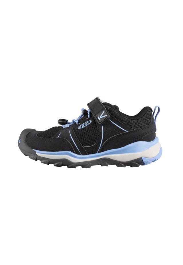 Hiking shoes - black/della blue