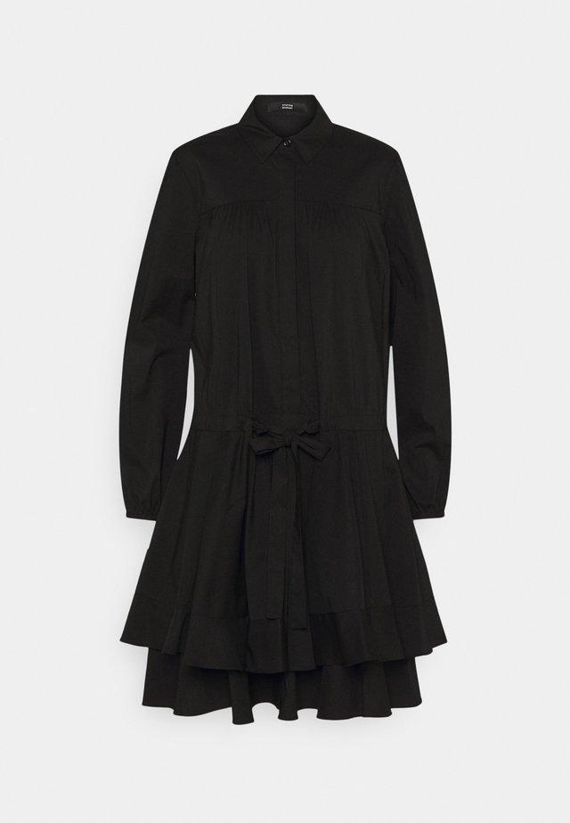 BROOKE FANCY DRESS - Shirt dress - black