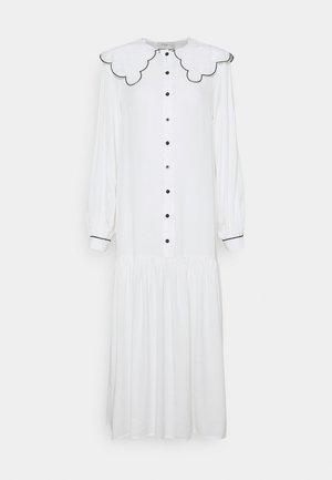 MAXI - Skjortklänning - white