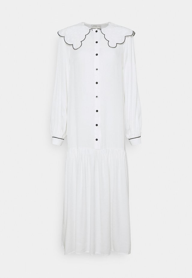 MAXI - Shirt dress - white