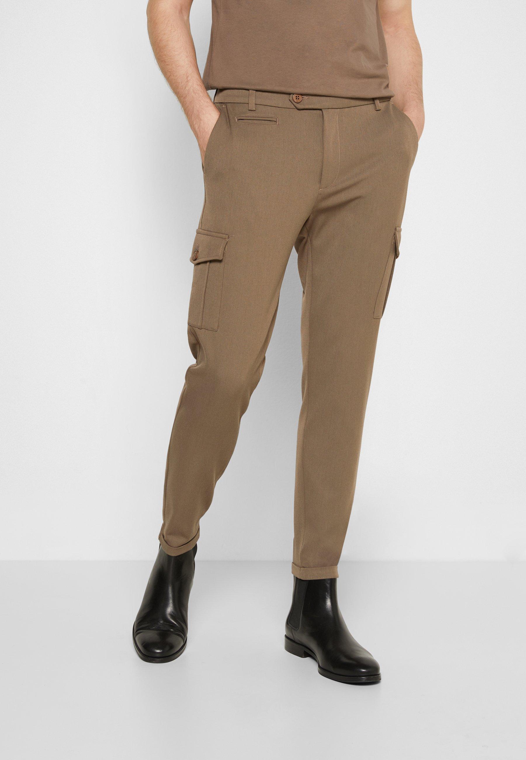 Homme COMO SUIT PANTS - Pantalon cargo