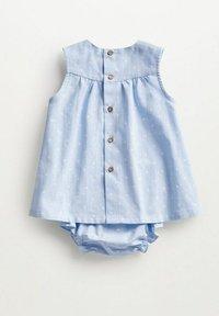 Mango - MET BROEKJE - Day dress - hemelsblauw - 1