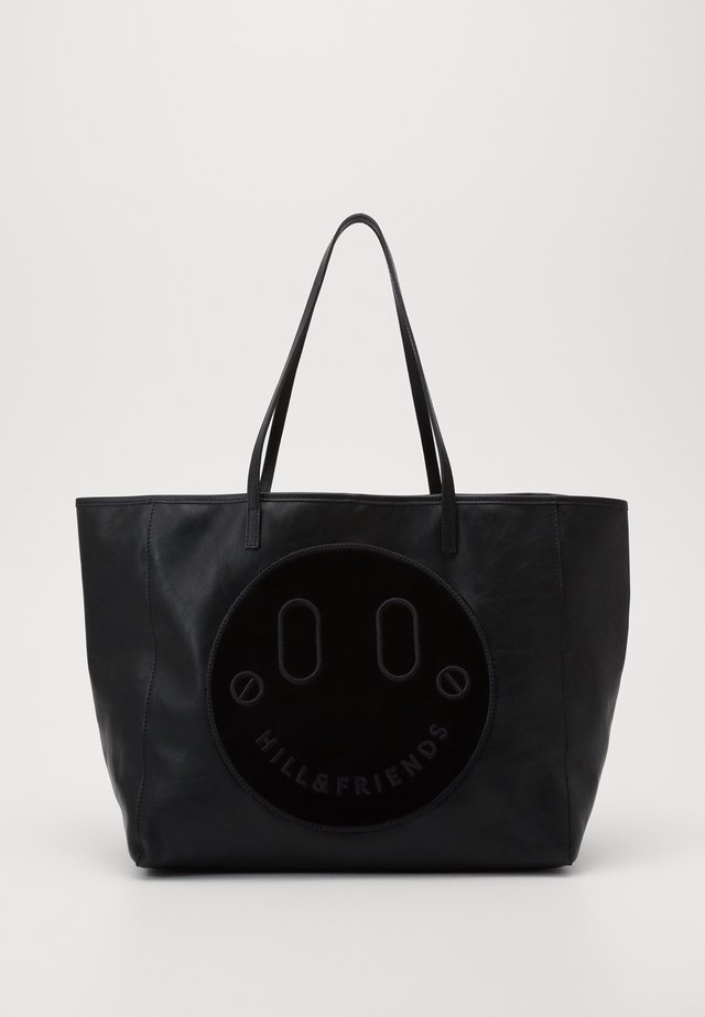 HAPPY SLOUCHY TOTE - Shopping bag - black