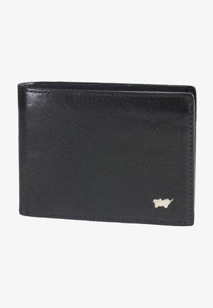 BASIC GELDBÖRSE LEDER 11 CM - Wallet - nachtschwarz