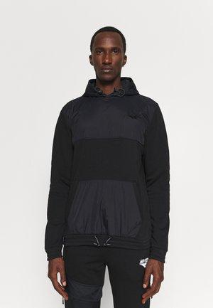 ZIMMER UTILITY HOODIE - Sweater - jet black