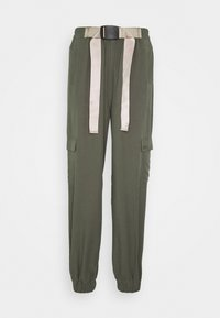 esmé studios - VANESSA CARGO PANTS - Trousers - green - 0