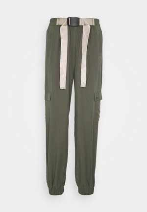 VANESSA CARGO PANTS - Trousers - green