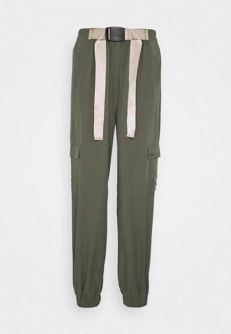 esmé studios - VANESSA CARGO PANTS - Trousers - green