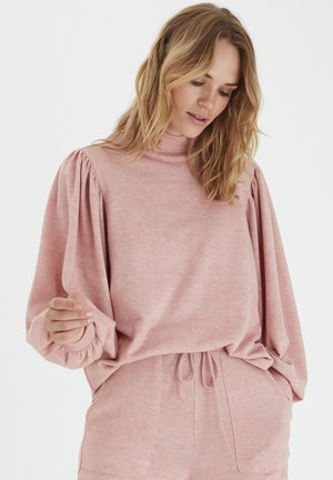 BXSELMA - Long sleeved top - mel. warm rose