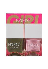 Nails Inc - TREND DUO - Nail set - 10723 girl king - 2