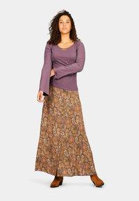 Isla Ibiza Bonita - SANT RAFEL - Maxi skirt - mysterious indian flowers - 4