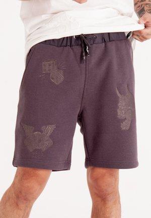 DRAG CLOUD STREET JOG  - Shorts - grey marl