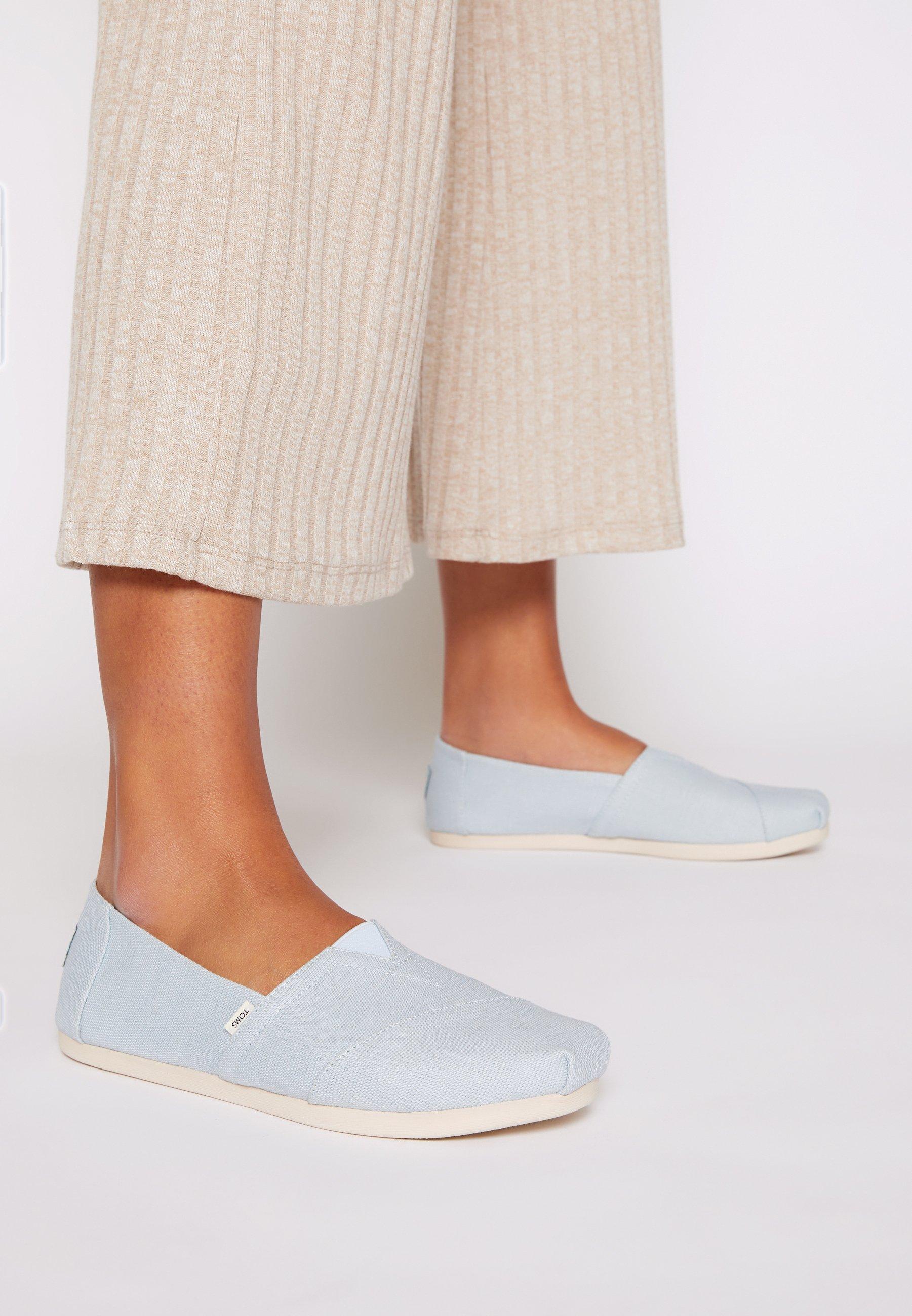 Women ALPARGATA VEGAN - Slip-ons - pastel blue