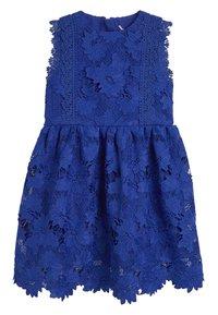 Next - COBALT BLUE LACE DRESS  - Freizeitkleid - blue - 0