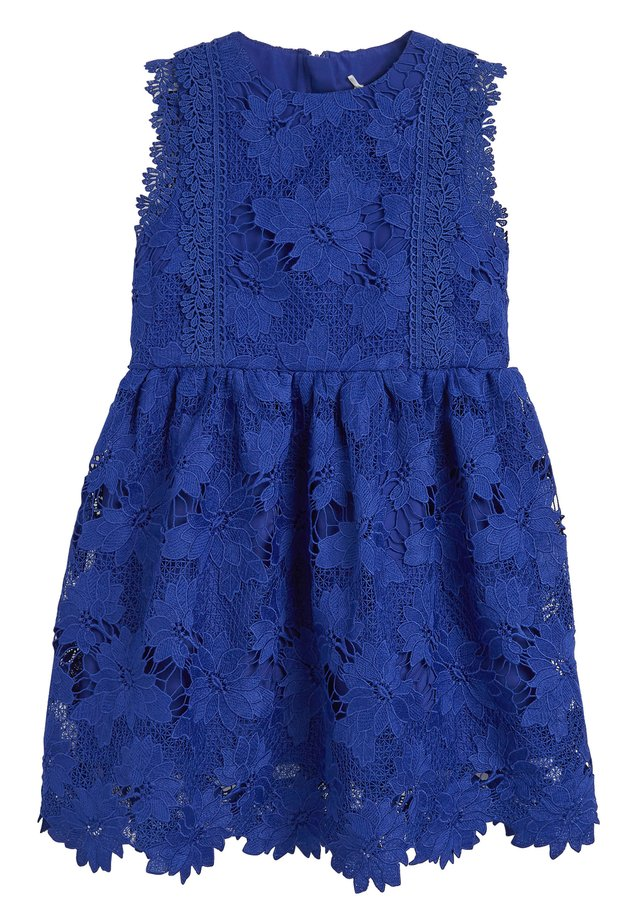 COBALT BLUE LACE DRESS  - Robe d'été - blue