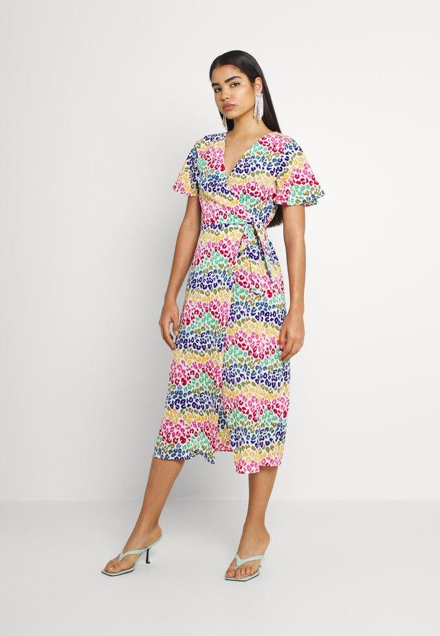LUCIA RAINBOW WRAP DRESS - Maxi šaty - multi