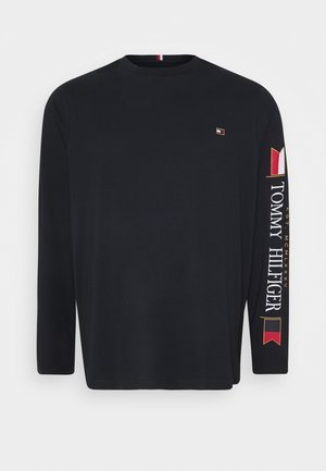 MIRRORED FLAGS LONG SLEEVE - Maglietta a manica lunga - blue