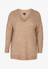 ZAY - MARLED - Pullover - camel - 0