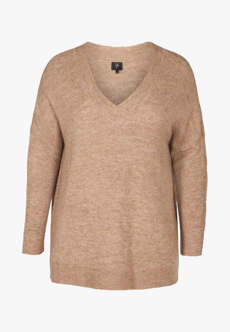 ZAY - MARLED - Pullover - camel