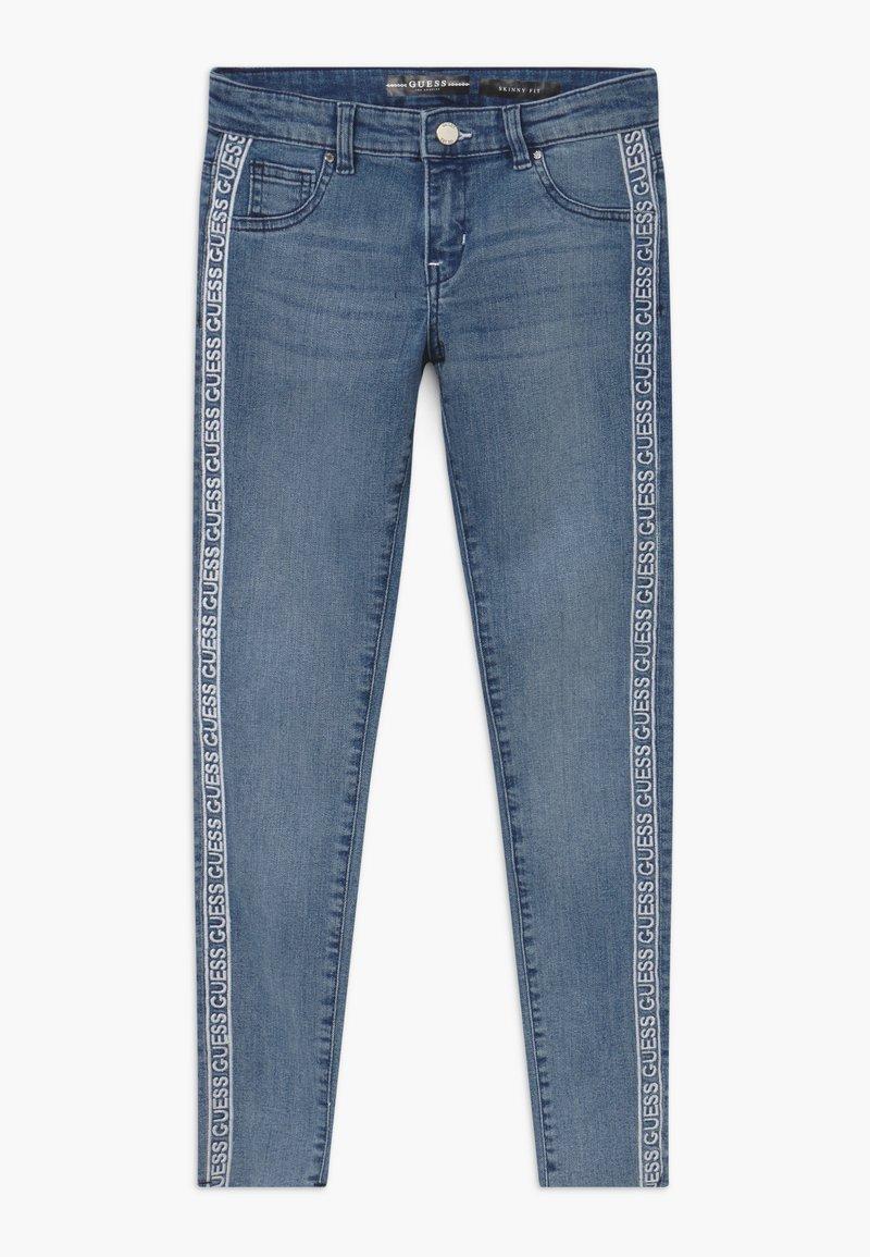 Guess - JUNIOR SKINNY - Jeans Skinny - light-blue denim