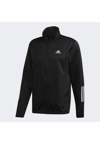 adidas Performance - FABRIC MIX TRACKSUIT - Träningsset - black - 8