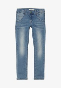 Name it - NKMSILAS DNMTRACE PANT - Slim fit jeans - light blue denim - 3