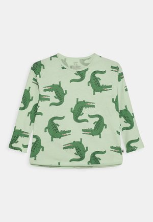 MINI CROCO UNISEX - Long sleeved top - light green