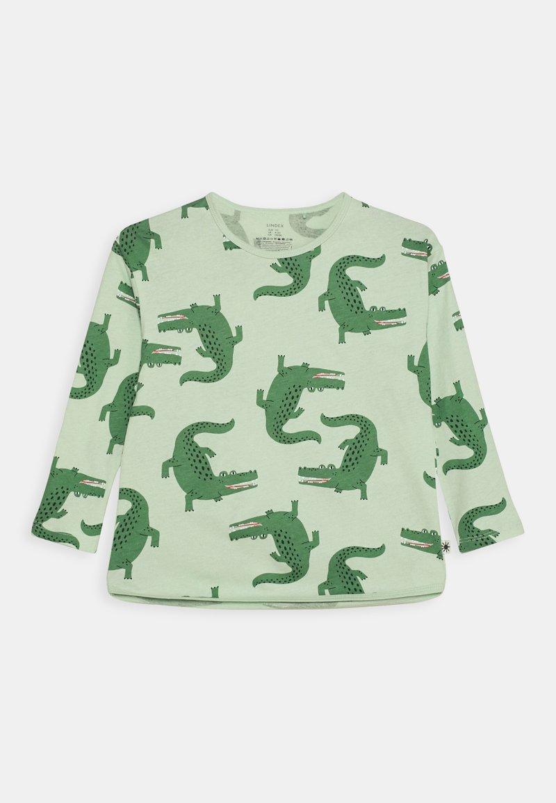 Lindex - MINI CROCO UNISEX - Long sleeved top - light green